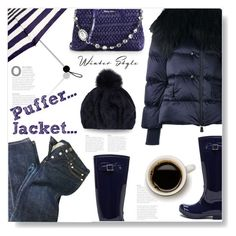 """""""Puffer Jacket..."""" by desert-belle ❤ liked on Polyvore featuring Moncler Grenoble, Accessorize, A.P.C., Miu Miu, Eugenia Kim, miumiu, polyvoreeditorial, moncler and puffers"""