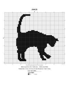 des petites croix... Cat Cross Stitches, Cross Stitch Borders, Cross Stitch Animals, Cross Stitch Charts, Cross Stitch Designs, Cross Stitching, Cross Stitch Embroidery, Cross Stitch Patterns, Knooking