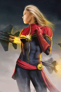 Ronda Rousey as Ms Marvel Ms Marvel Captain Marvel, Captain Marvel Carol Danvers, Marvel Art, Marvel Girls, Marvel Heroines, Marvel Characters, Marvel Movies, Star Trek, Marvel Concept Art