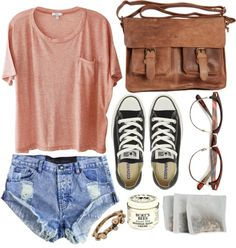 Casual and cute. But seriously, if you wear those shorts I will judge you... And call your daddy.