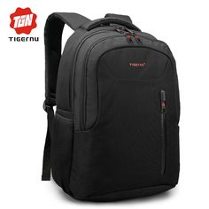 Tigernu Brand Men Laptop Backpack Fashion Trend Soild School Backpack for  teenagers Female mochila Anti theft military backpack. Fashion Bags b81ffeee1d2a0