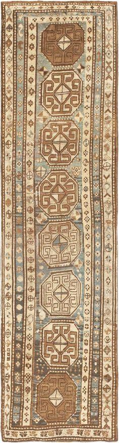 Antique Persian Kurdish Runner Rug 43991 Nazmiyal - By Nazmiyal