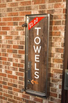 Hand painted sign for car wash paper towel dispenser Car Washes, Hand Painted Signs, Towel, Fox, Paper, Car Cleaning, Foxes