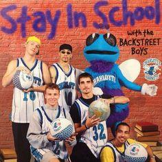 Do u remember Backstreet Boys and Charlotte Hornets??
