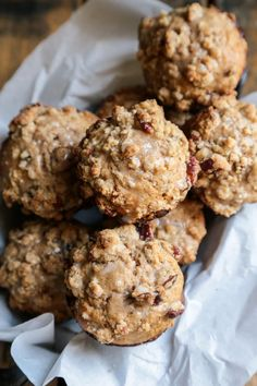 Cinnamon Raisin Streusel Muffins - Country Cleaver