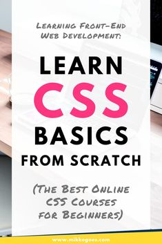 Want to start learning CSS and front-end web development basics from scratch? Check out this article on CSS fundamentals for beginners - find out what CSS is all about, what you can use it for in website design and coding projects, and where to find Web Design Quotes, Web Design Tips, Web Design Tutorials, Web Design Trends, Web Design Company, Web Design Inspiration, App Design, Coding Tutorials, Design Layouts