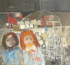 BBC Arts - BBC Arts - How the unflinching art of Joan Eardley captures Scotland at its rawest