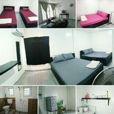 Maspul Homestay Tawau 2 3 Bilik 1 Tandas Ruang Tamu Family Room Katil Saiz Queen Aircond