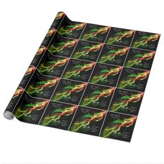 Halloween cauldron and a frog wrapping paper - Halloween happyhalloween festival party holiday