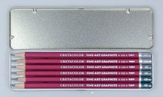 A superior grade of graphite in the traditional hard cedar wood casing these pencils are exceptionally strong and can be sharpened to a clean fine point. The fine art graphite pencils are formulated to be extra-smooth and easily blended.