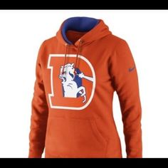 Bright Antigua Denver Broncos Football Hoodie Mens Large Excellent Condition Cheapest Price From Our Site Football-nfl