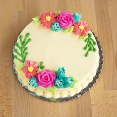 Cake Decorating Videos, Birthday Cake Decorating, Cake Decorating Techniques, Spring Cake, Summer Cakes, Wiener Schnitzel, Goth Cakes, Mothers Day Cakes Designs, Brithday Cake
