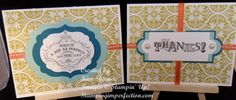 Stampin Up!s Vintage Verses! from Stamping Imperfection.