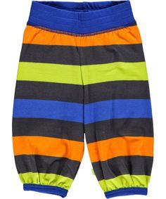 Mala hippe gestreepte broek met felle kleuren #emilea