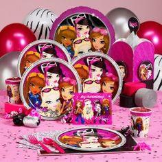 Bratz Party Supplies 7th Birthday Ideas Frozen Girl