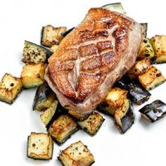 Borneói sarawak borsos kacsamellsült Pork, Kale Stir Fry, Pork Chops