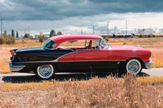 Oldsmobile super 88 holiday coupe 1956.