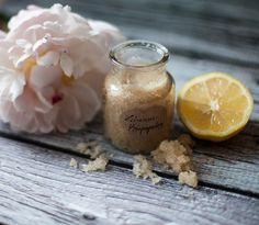 Zucker-Zitronen-Peeling