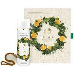 UK only - Buy Liz Earle The Winter Icon Cleanse & Polish™ Hot Cloth Cleanser Sweet Orange & Clove Skincare Gift Set Online at johnlewis.com