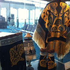Handiwork by the Haida tribe -YVR
