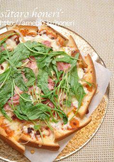 食パンDEピザ