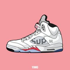 drawing, shoes, sneakers, nike, air, jordan, carmine,graphic,