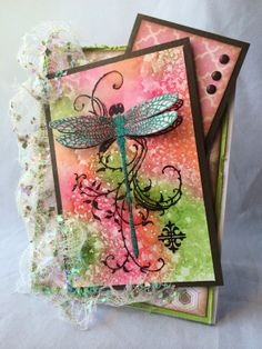 Just4FunCrafts and DoveArt Studios: Dragonfly Delight