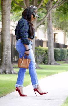 Toun 'AJ': Denim series: Slouchy Mom jeans + oversized men's ...