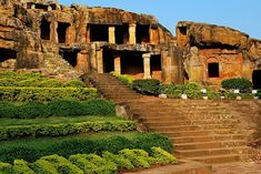 of - There are just lots of things to explore in India. Among these include its famous caves. Caving in India is very famous considering the number of caves that it owns. Each state in India has a number of caves worth exploring. Ancient Architecture, Beautiful Architecture, Caves In India, Ajanta Ellora, Temple India, Temple City, Exotic Beaches, Lake Beach, Tourist Places