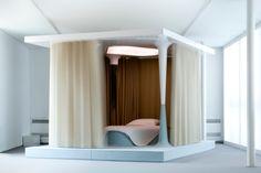 Mathieu Lehanneur designs bed to cure insomnia - Home Design Network Home Bedroom, Bedroom Decor, Dream Bedroom, Design Bedroom, Bedroom Ideas, Bedrooms, Zen Bed, Futuristic Bedroom, Futuristic Interior