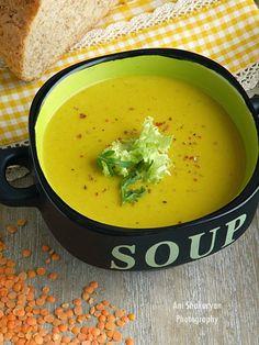 Вкуснотека: Крем супа от червена леща