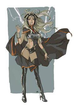 Storm, Amazing X-men Marvel Comics, Comics Anime, Bd Comics, Comics Girls, Marvel Heroes, Comic Book Characters, Comic Character, Comic Books Art, Female Characters