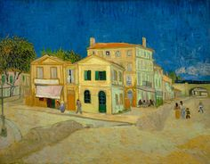 Interesting article about Van Gogh's colours fading… Vincent van Gogh's The Yellow House (1888).