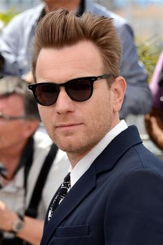 Ewan McGregor wearing Marni at Cannes photocall