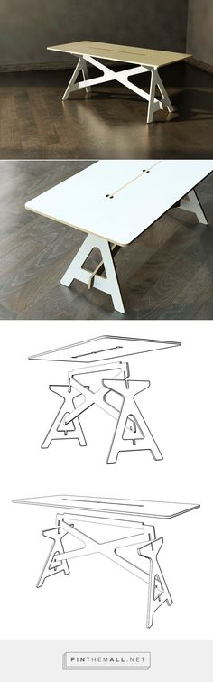 Cool plywood table (Cool Furniture)