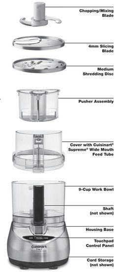awesome  Cuisinart DLC-2009CHB Prep 9 9-Cup Food Processor, Brushed Stainless