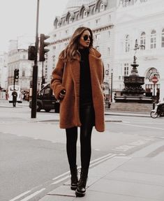 Winter Outfits For Teen Girls, Winter Mode Outfits, Winter Outfits Women, Winter Coats Women, Winter Fashion Outfits, Look Fashion, Autumn Winter Fashion, Fall Coats, New York Winter Fashion