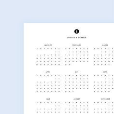 Nine Awesome Free  Printable Calendars  Free Printable