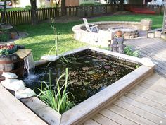 diy ponds | ... ..If you will show yours - Ponds & Aquatic Plants Forum - GardenWeb