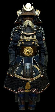 Mid Edo Period Samurai -Dragon- Gusoku [Full Dress]