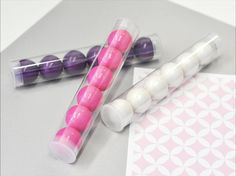 DIY Blank Candy Tube