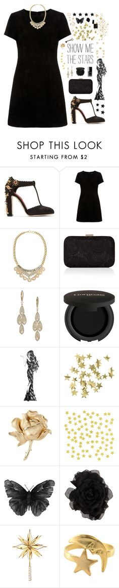 """""""Show Me the Stars // Merry Christmas!!"""" by skydancer18 ❤ liked on Polyvore featuring мода, Dolce&Gabbana, Accessorize, Adriana Orsini, Chanel, Gorgeous Cosmetics, Percy & Reed, H&M, Susan Caplan Vintage и ALDO"""