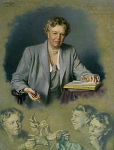 Douglas Granville Chandor - Eleanor Roosevelt White House Portrait, 1949