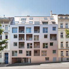 Nerma Linsberger: Wohnhaus Beckmanngasse | Wien