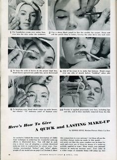How to give a lasting makeup