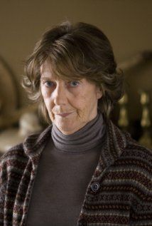 """Eileen Atkins -- """"Eileen Atkins was born in a Salvation Army Women's Hostel in north London. Her father was a gas meter reader; her mother, a seamstress and barmaid. A drama teacher taught her how to drop her Cockney accent, and she studied Shakespeare and Greek tragedies.""""....IMDB"""