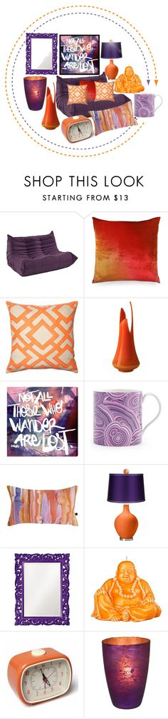 """wander or wonder"" by sum1smuse ❤ liked on Polyvore featuring interior, interiors, interior design, home, home decor, interior decorating, Kevin O'Brien, Loloi Rugs, Oliver Gal Artist Co. and Jonathan Adler"