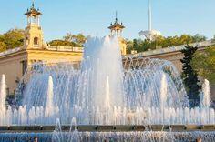 10 fantastic fountains, Font Magica, Barcelona.