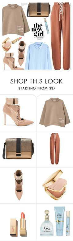 """""""Don't stop the music"""" by monica-dick on Polyvore featuring Puma, MANGO, Brunello Cucinelli, Dolce&Gabbana, PUR, H&M, StreetStyle, sporty, CasualChic and polyvoreeditorial"""