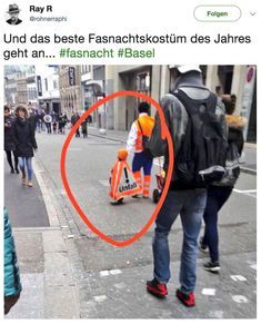 The best carnival costume of the year - Familie - humor